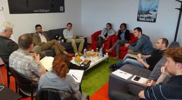 Lancement de la première table ronde e-nov Campus 2013