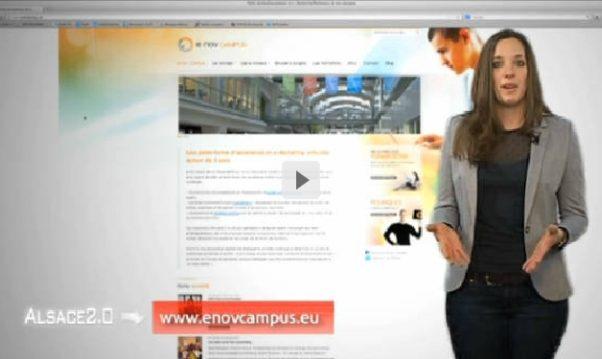 Alsace 2.0 parle de l'ouverture des candidatures e-nov Campus